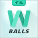 Link toW balls - html template