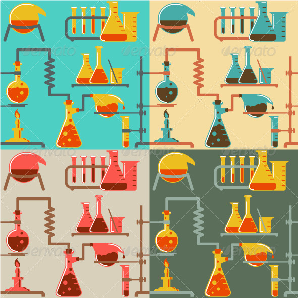 GraphicRiver Chemistry Pattern 5210826