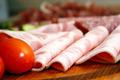 Bierschinken ham with tomato in macro - PhotoDune Item for Sale