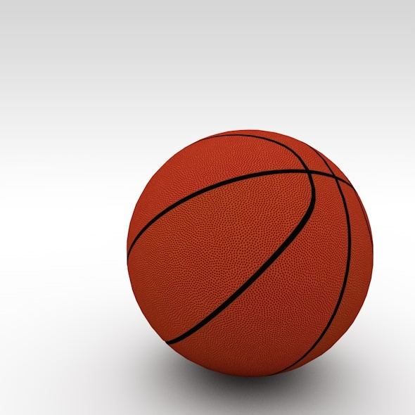 basketball realistic - 3DOcean Item for Sale