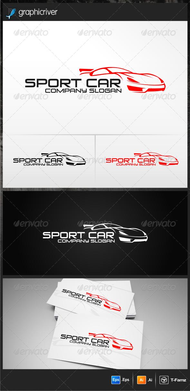 GraphicRiver Sport Car V.1 Logo Templates 5211240