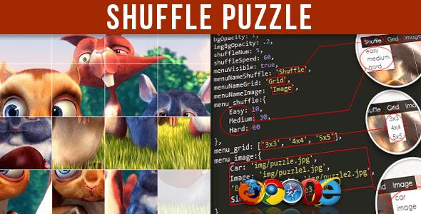 CodeCanyon Shuffle Puzzle 5211527
