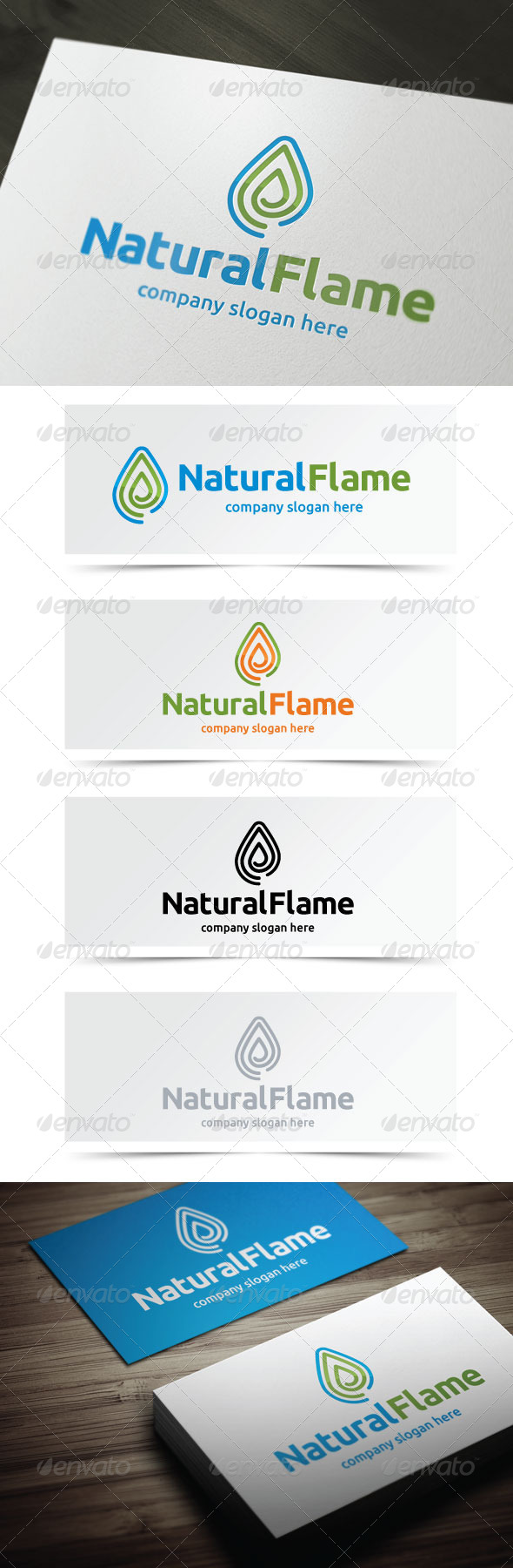 GraphicRiver Natural Flame 5211648