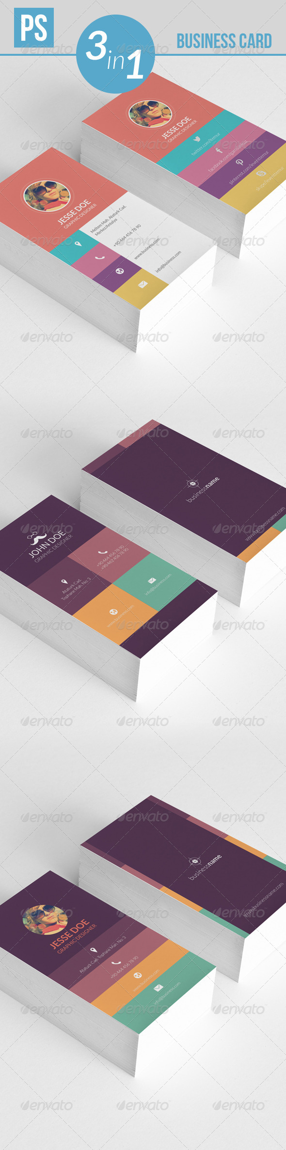 GraphicRiver Business Card 5211795