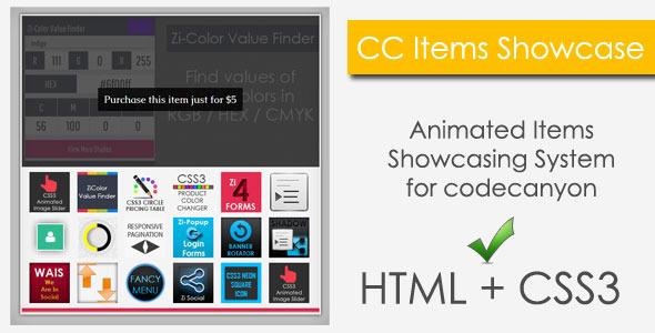CodeCanyon CC Items Showcase 5211911