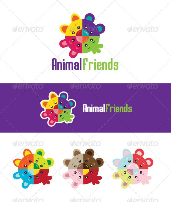 GraphicRiver Animal Friends 5211946