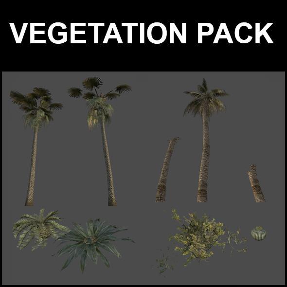 3DOcean Vegetation pack 5211995