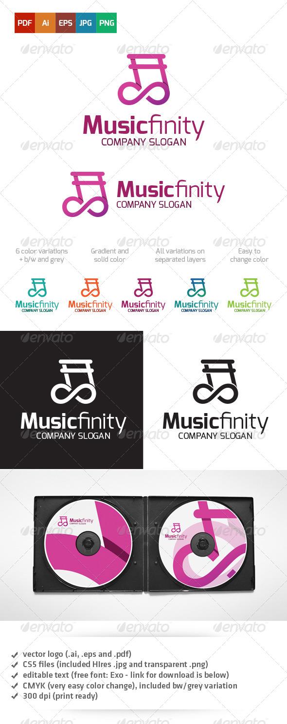 GraphicRiver Musicfinity Logo 5180777