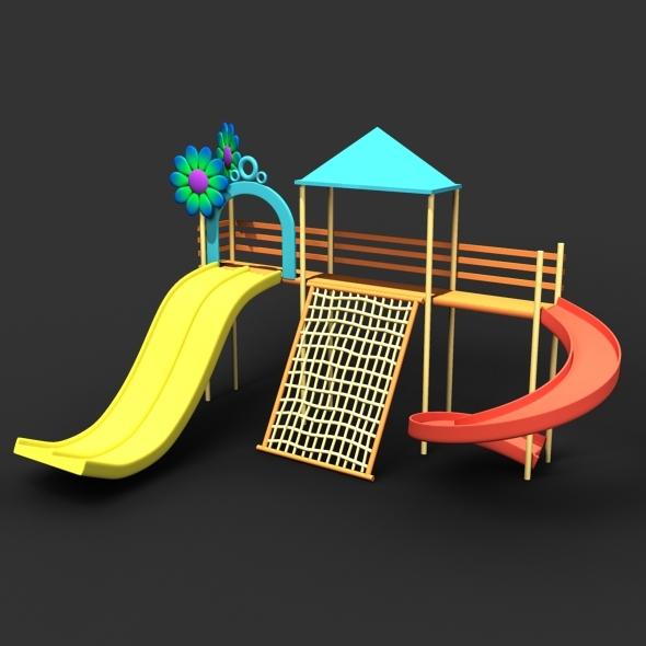 3DOcean Cartoon Style Park 5212093