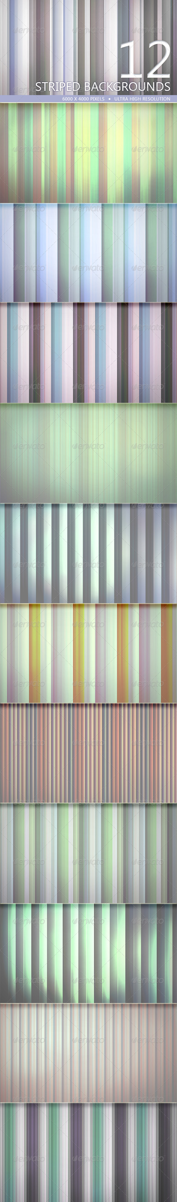 GraphicRiver Striped Backgrounds Volume 2 5212162