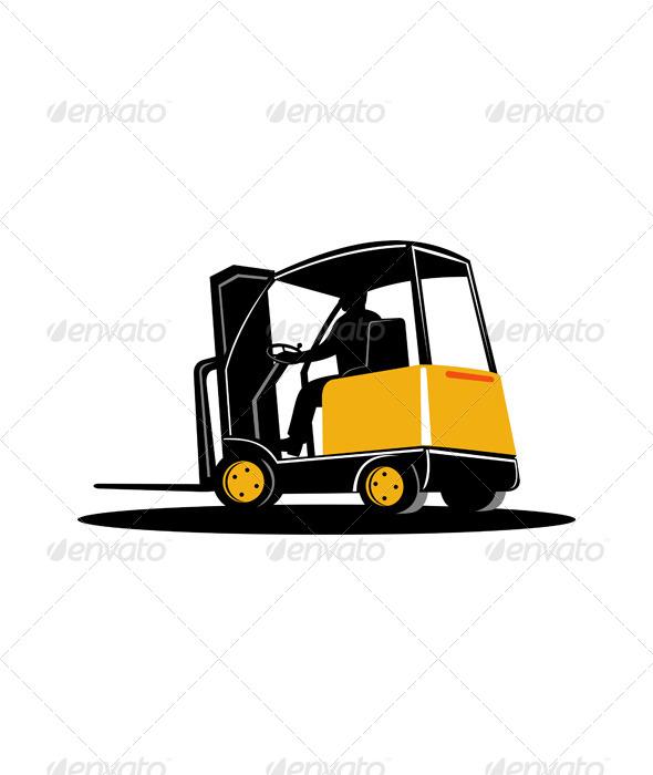 GraphicRiver Forklift Truck 5213337