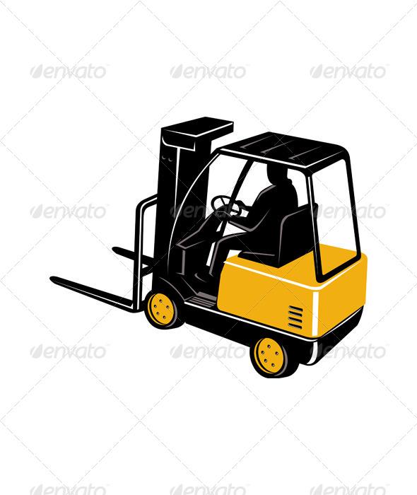GraphicRiver Forklift Truck 5213341