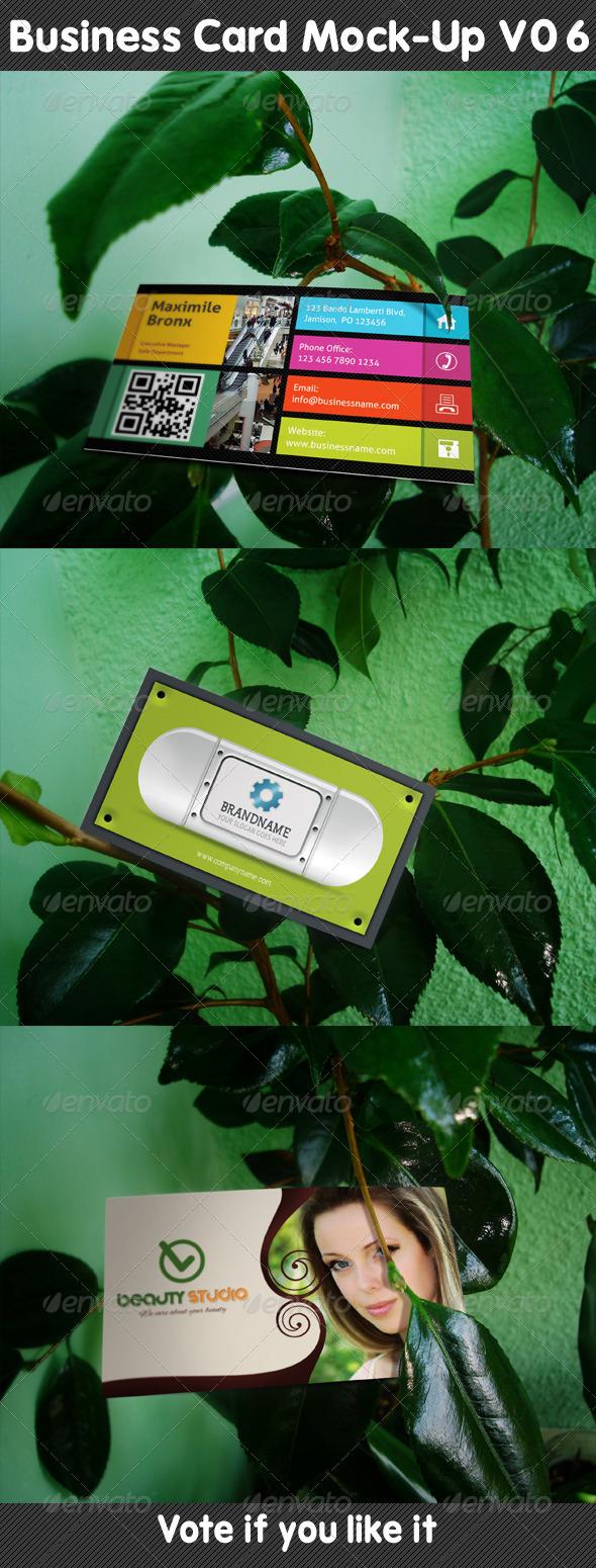 GraphicRiver Business Card Mock-Up V06 5213732