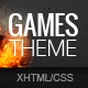 GamesTheme Premium HTML5/CSS3 Template - ThemeForest Item for Sale