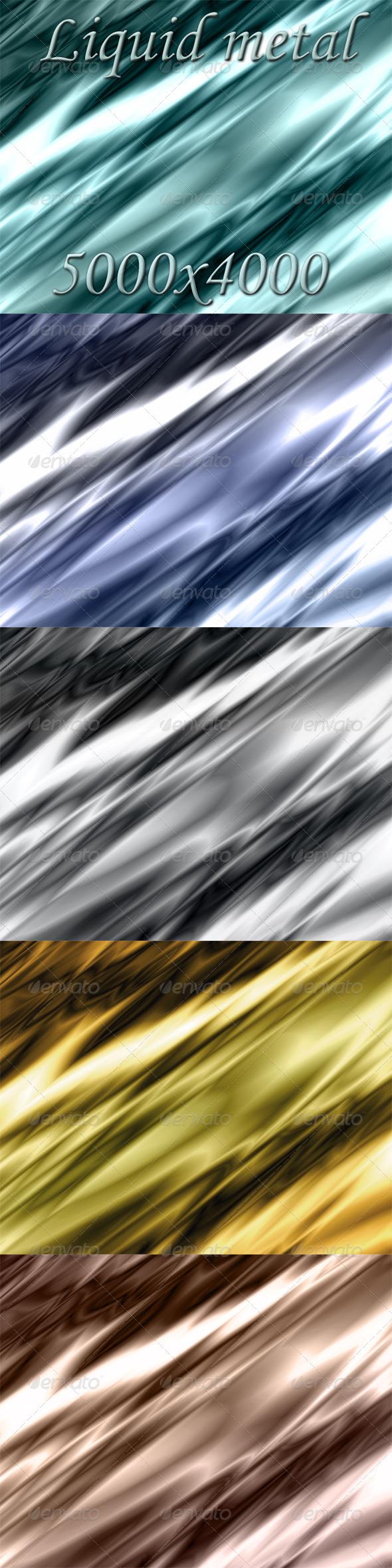 GraphicRiver Liquid Metal 5202271