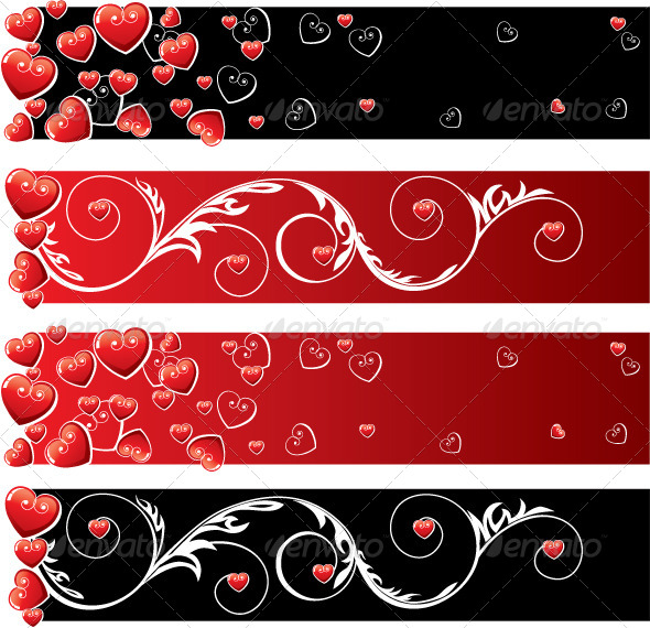 GraphicRiver Valentine s Day Banners 5214231