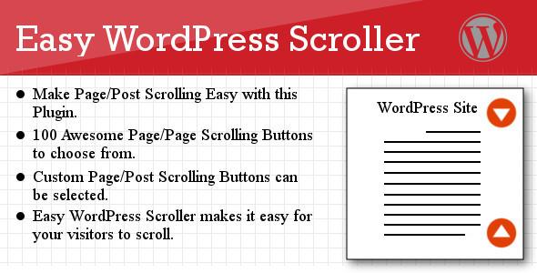 CodeCanyon Easy WordPress Scroller 5214742