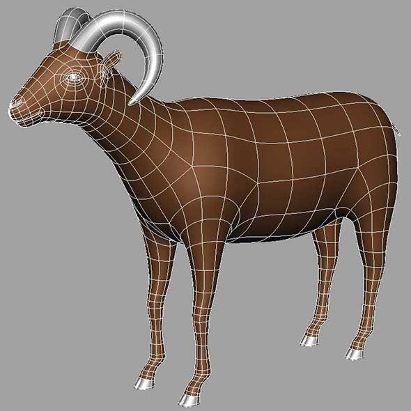 Ram - 3DOcean Item for Sale