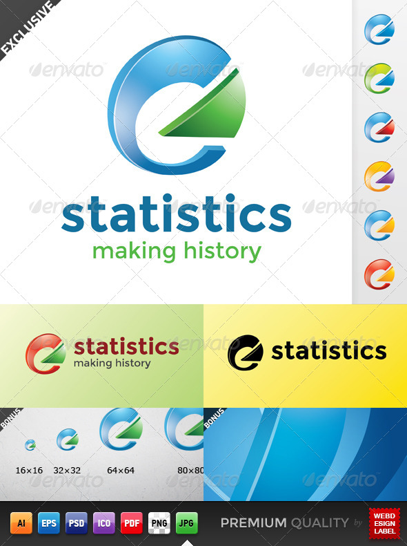 GraphicRiver Statistics Logo 5215761