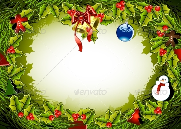 GraphicRiver Christmas Background 5216605