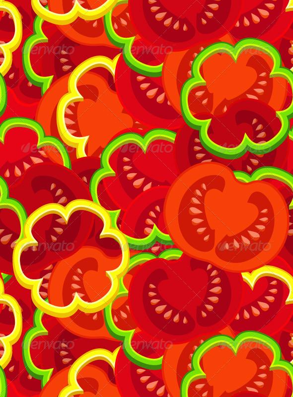 GraphicRiver Tomato Pattern 5217127
