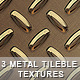 3 tileble metal textures - GraphicRiver Item for Sale