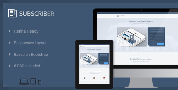 ThemeForest Subscriber Build Your Email List 5217422