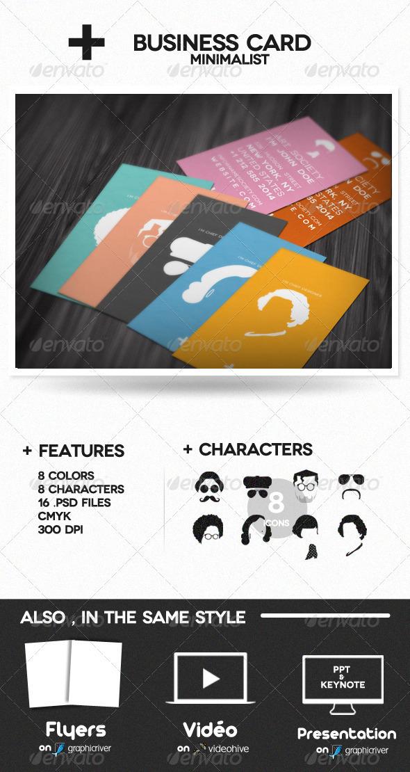 GraphicRiver Minimalist Profil 530045