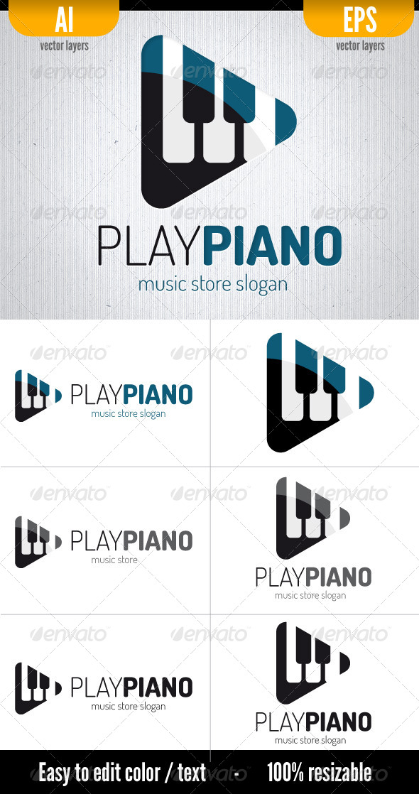 GraphicRiver Play Piano 5217730