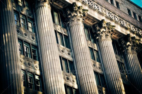 Heavy Columns - Stock Photo - Images