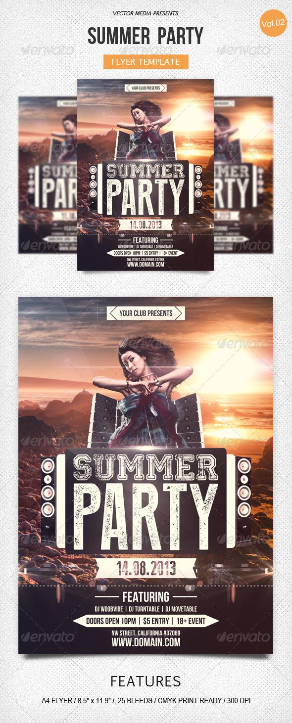 Summer Party Flyer [Vol.2]