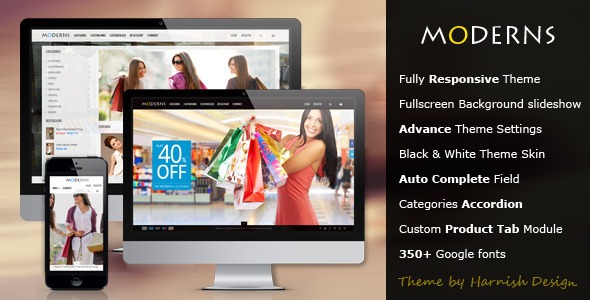 ThemeForest Moderns fullscreen background OpenCart theme 5216584