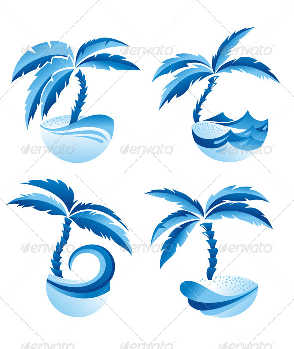 GraphicRiver Palm Trees 5218478