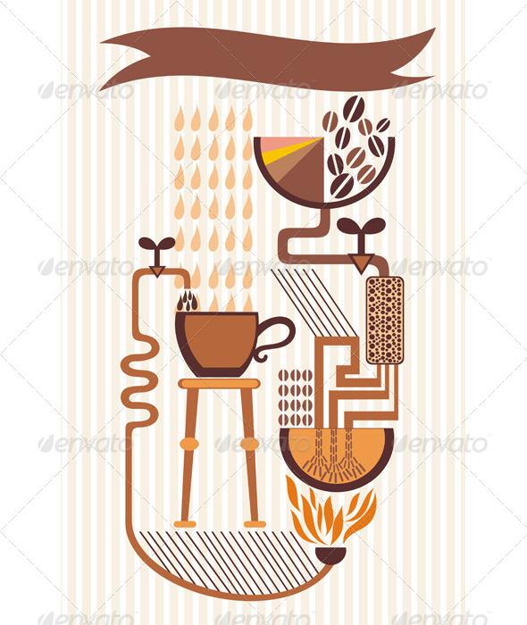 GraphicRiver Coffee 5218496