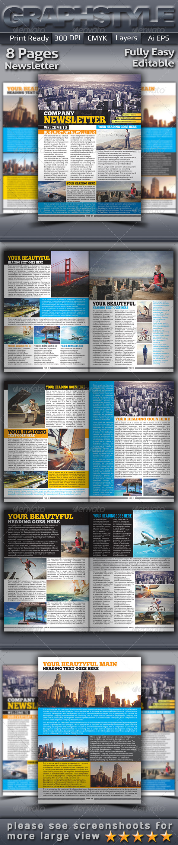 GraphicRiver Company Newsletter 5218813