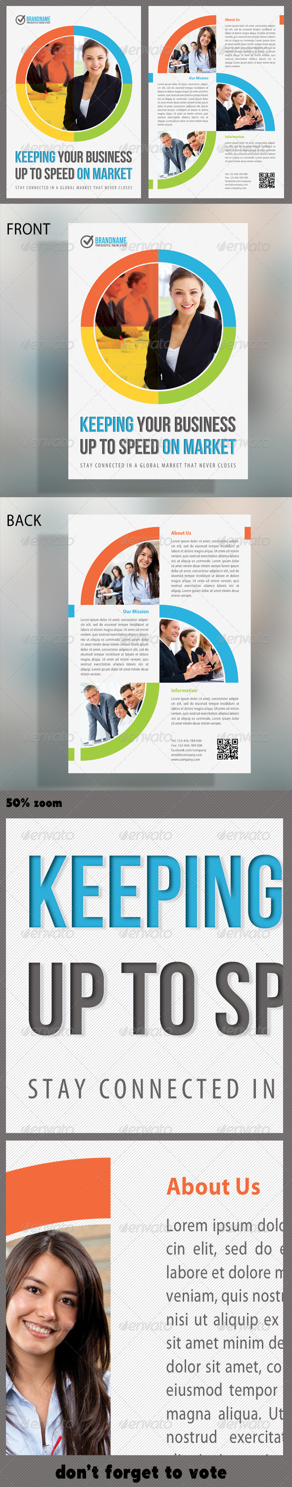 GraphicRiver Corporate Product Flyer 12 5218828