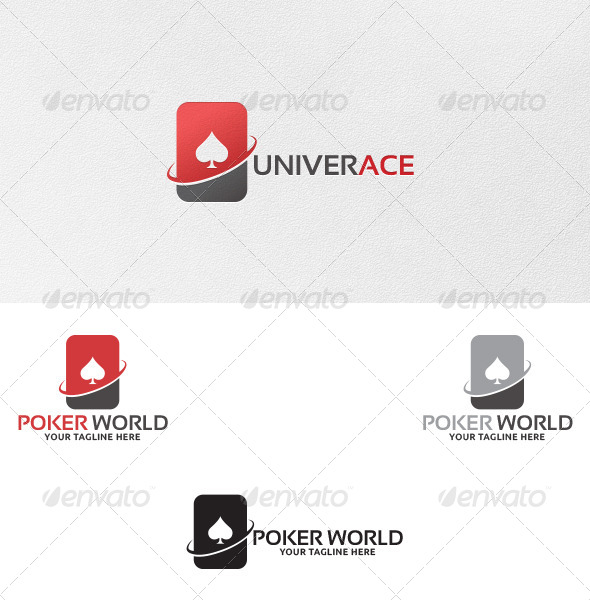 GraphicRiver Poker World Logo Template 5218904