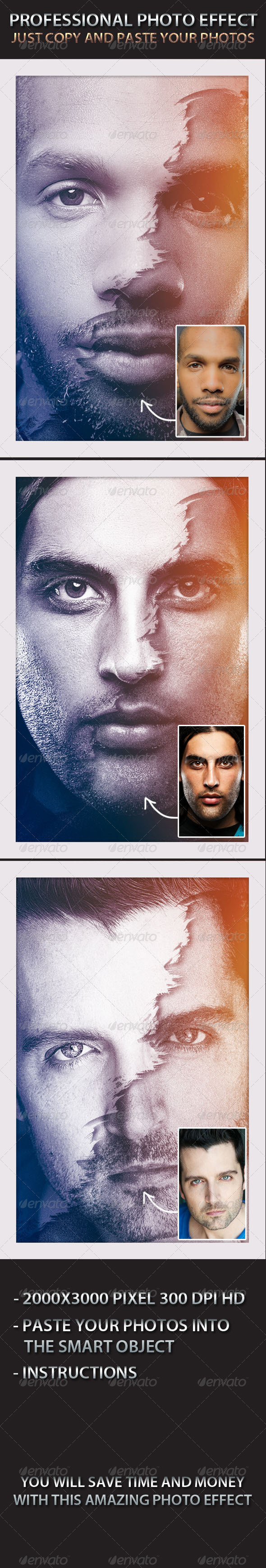 GraphicRiver Photo Effect Photo Template 5198552