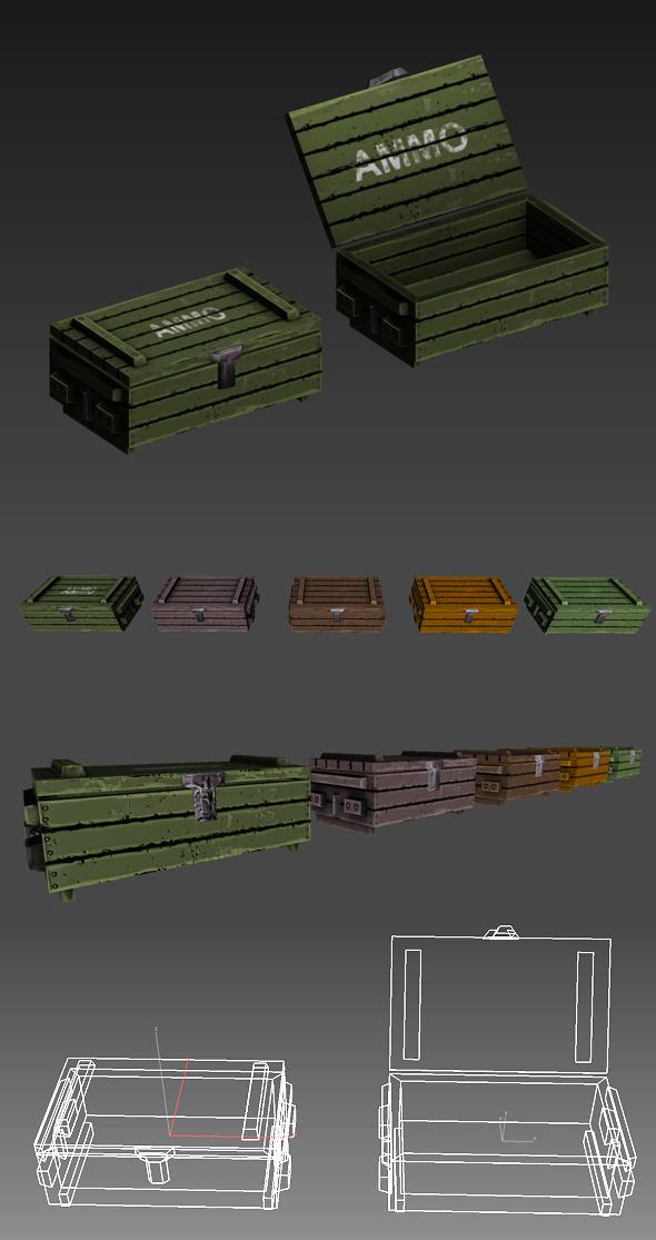 3DOcean Ammo Box 5219143