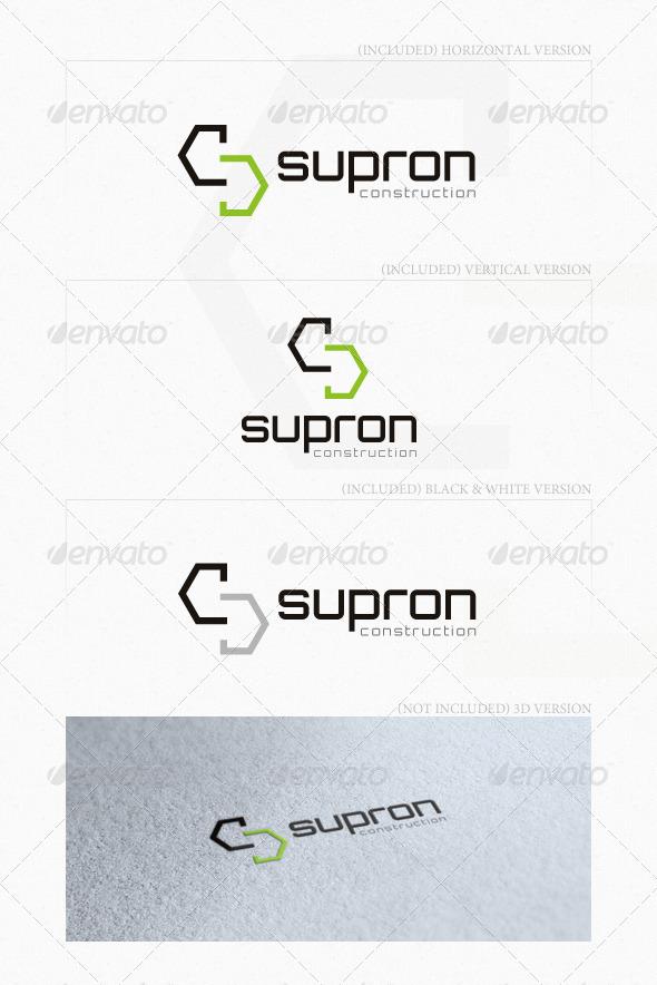 GraphicRiver Supron Logo 5219432