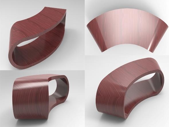 3DOcean Bindo Coffee Table 5219978