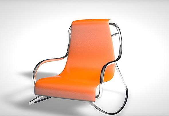 3DOcean Rocking Chair 5220150