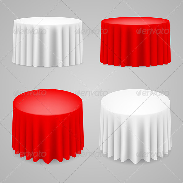 GraphicRiver Dining Tables Set 5220469