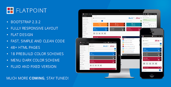 Flatpoint - Responsive Admin Dashboard Template