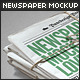 Newspaper / Newsletter Mock-Up - 2 - GraphicRiver Item for Sale
