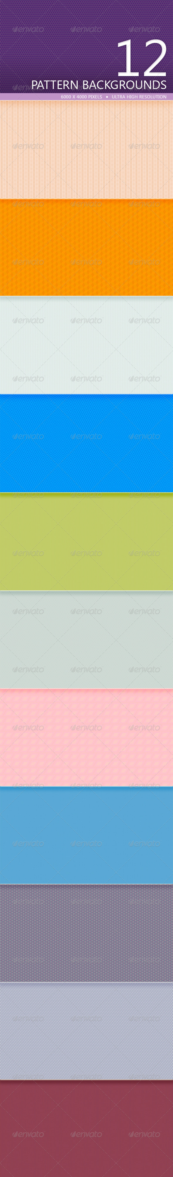GraphicRiver Pattern Backgrounds Volume 1 5220947