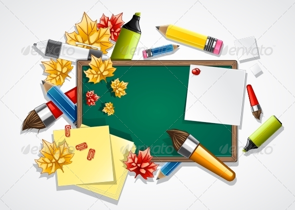 GraphicRiver School Background 5216831