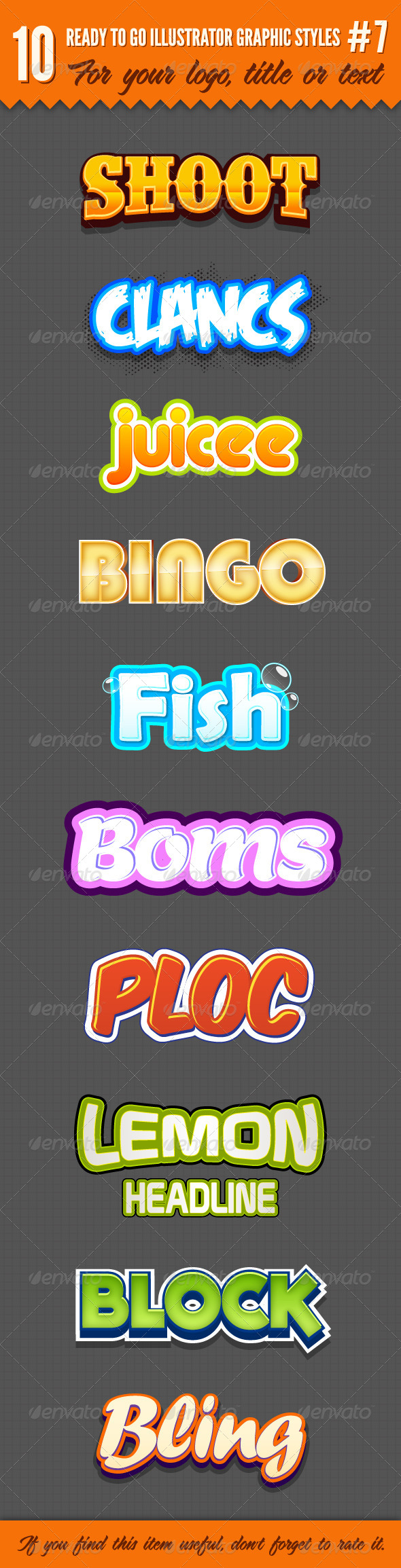 GraphicRiver 10 Logo Graphic Styles #7 5221169