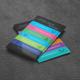 Social Media Business Card No 2 - GraphicRiver Item for Sale