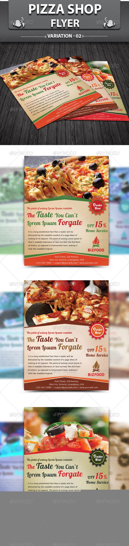 GraphicRiver Pizza Shop Flyer v2 5221369